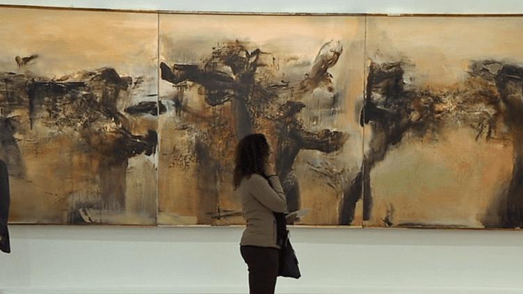 """""""L'espace est le silence"""" exposition Zao Wou Ki au musée d'art moderne de la ville de Paris  (France 3 / Culturebox )"""