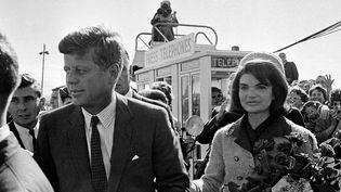 John F. Kennedy et son épouse Jacqueline à Dallas le 22 novembre 1963  (AP/SIPA)