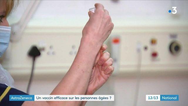 Coronavirus : le vaccin AstraZeneca moins efficace sur les seniors ?