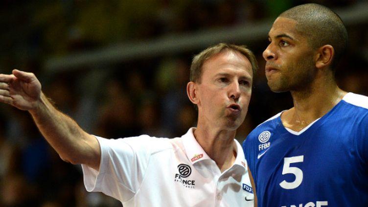 Vincent Collet et Nicolas Batum veulent mener les Bleus aux sommets lors de la Coupe du monde en Espagne