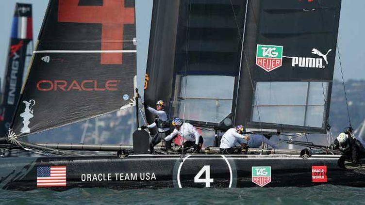 L'AC 72 d'Oracle Team USA