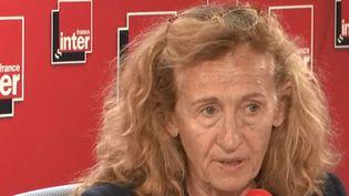 Nicole Belloubet, ministre de la Justice, était l'invitée France Inter lundi 9 septembre 2019. (FRANCEINFO / RADIO FRANCE)