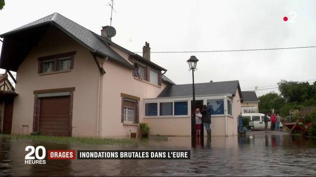 Eure : les habitants surpris par la montée des eaux