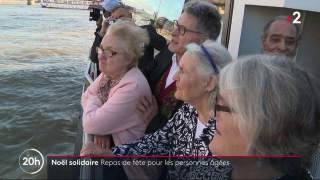 Noël : repas solidaire sur un bateau-mouche pour des personnes isolées
