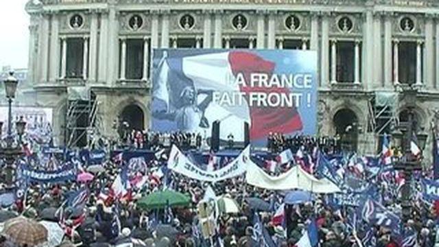 Un 1er mai du Front national mouvementé