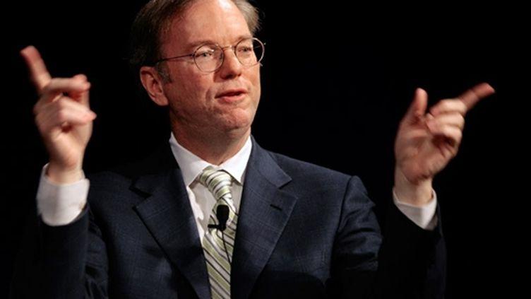 Eric Schmmidt, directeur général de Google (© AFP/CHIP SOMODEVILLA)