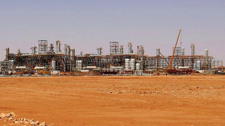 Cliché non daté du site gazier d'In Amenas, dans le sud de l'Algérie, où des jihadistes ont pris plusieurs dizaines de personnes en otage, le 17 janvier 2013. (KJETIL ALSVIK / STATOIL / AFP)