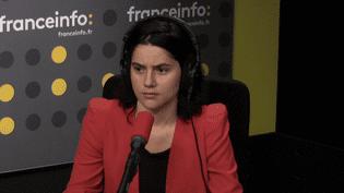 La journaliste Clara Schmelck, sur franceinfo, le 16 octobre 2017. (FRANCEINFO / RADIO FRANCE)