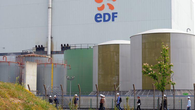 La centrale nucléaire de Fessenheim (Haut-Rhin) le 29 avril 2011. (PATRICK HERTZOG / AFP)