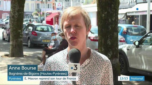 Covid-19 : en déplacement dans les Hautes-Pyrénées, Emmanuel Macron assume ses choix et maintient son cap