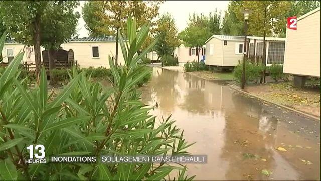 Inondations : peu de dégâts dans l'Hérault