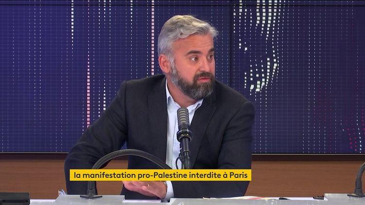 Alexis Corbière, député La France insoumise de Seine-Saint-Denis sur franceinfo le 15 mai 2021. (FRANCEINFO / RADIO FRANCE)