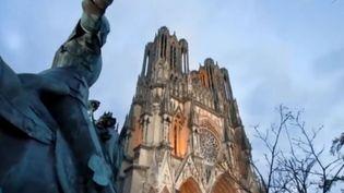La cathédrale de Reims (Marne). (FRANCE 3)