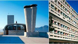 """La """"Cité Radieuse"""" de Le Corbusier sort de terre en 1952 sous le regard étonné des Marseillais  (Paul kozlowski 1997 © FLC/ADAGP)"""