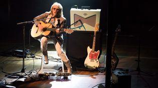 Le chanteur Christophe en concert live dans le cadre du festival 'Voix de Fête' le 9 mars 2015 au Victoria Hall, Genève, Suisse. (LIONEL FLUSIN / GAMMA-RAPHO)