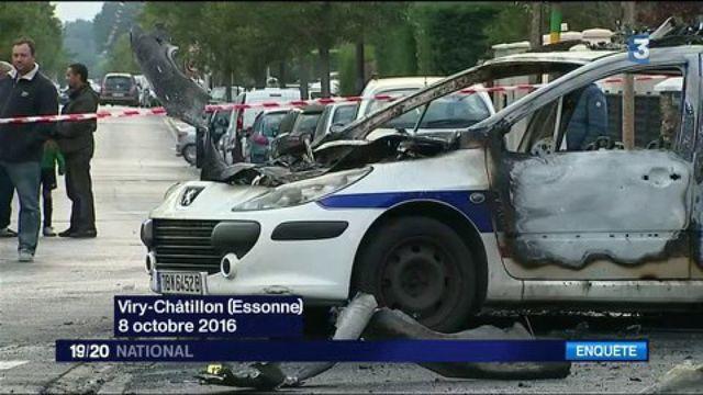 Viry-Châtillon : onze jeunes suspects interpellés