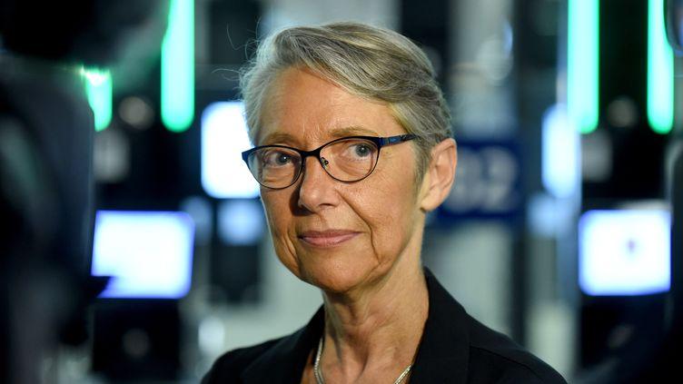 La ministre de la Transition écologique et solidaire, en charge des Transports, Elisabeth Borne (2018). (ERIC PIERMONT / AFP)