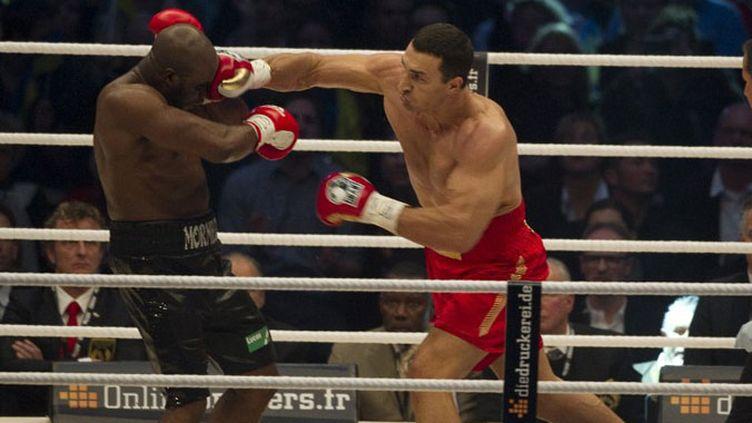 Jean-Marc Mormeck a subi les coups de Vladimir Klitschko