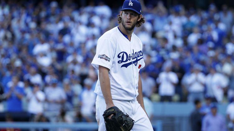 Le lanceur des Los Angeles Dodgers Clayton Kershaw (JEFF GROSS / GETTY IMAGES NORTH AMERICA)