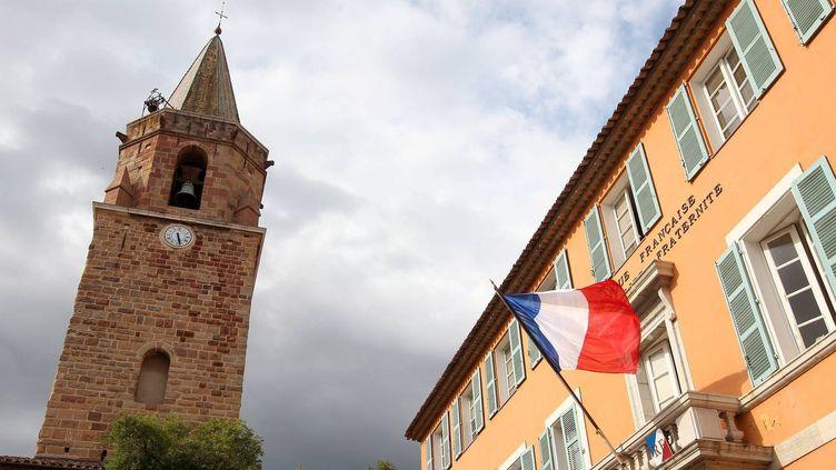 Façade de la mairie de Frejus le 26 mai 2014  (PHOTOPQR/NICE MATIN)