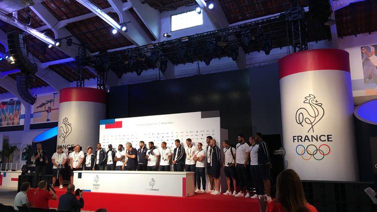 Dernière conférence de presse officielle pour les handballeurs tricolores