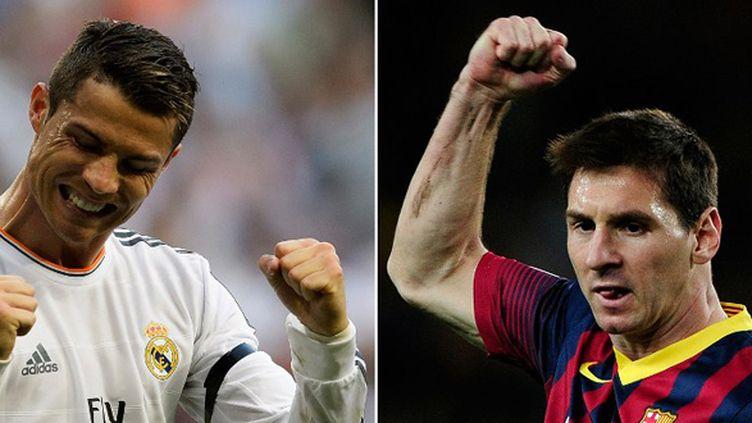 Lionel Messi et Cristiano Ronaldo, les incontournables (DANI POZO / AFP)