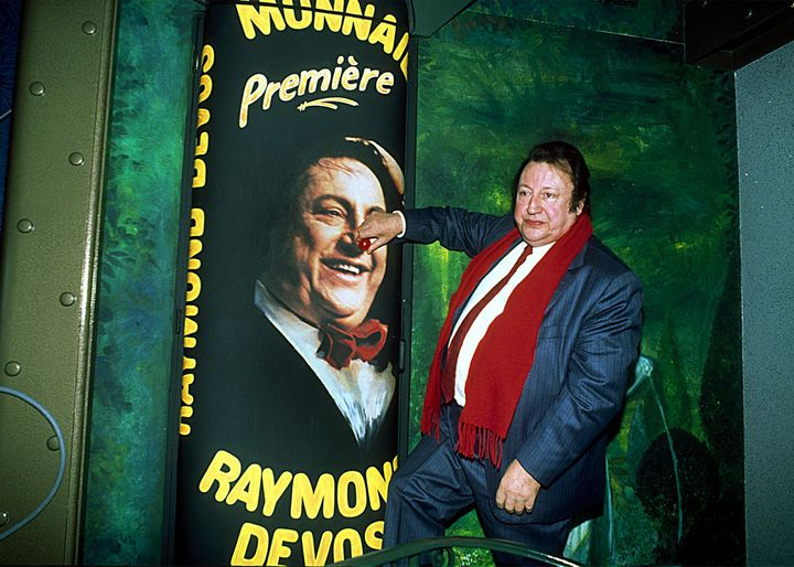 Raymond Devos parrain du festival de Monnaie (Indre-et-Loire)  (MAXPPP)