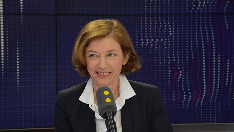 Florence Parly, ministre des Armées, invitée defranceinfole 28 septembre 2017. (JEAN-CHRISTOPHE BOURDILLAT / RADIO FRANCE)