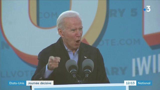 Etats-Unis : journée décisive au Congrès pour Joe Biden