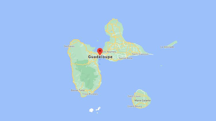 La victime a été découverte à son domicile à Baie-Mahault, deuxième ville la plus peuplée de la Guadeloupe. (GOOGLE MAPS)