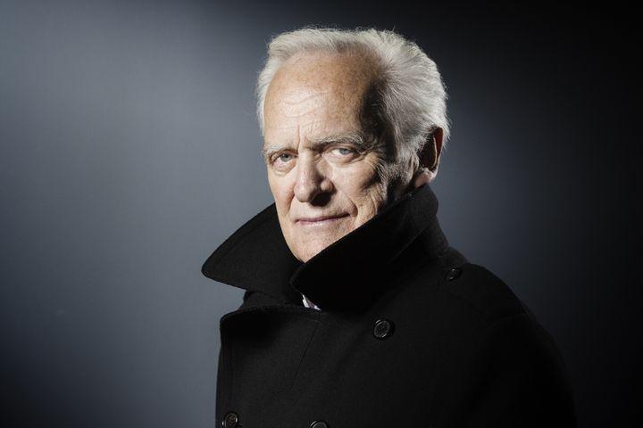 Le journaliste, écrivain et réalisateur Philippe Labro, le 21 avril 2017 à Paris. (JOEL SAGET / AFP)