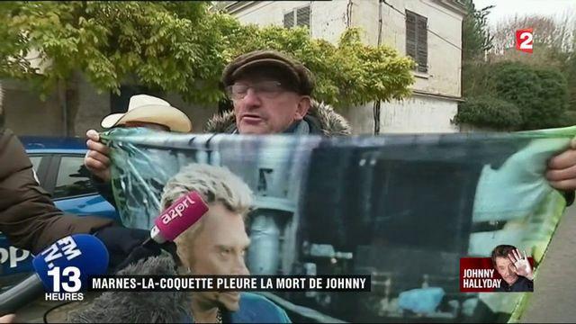 Mort de Johnny Hallyday : la France entière sous le choc
