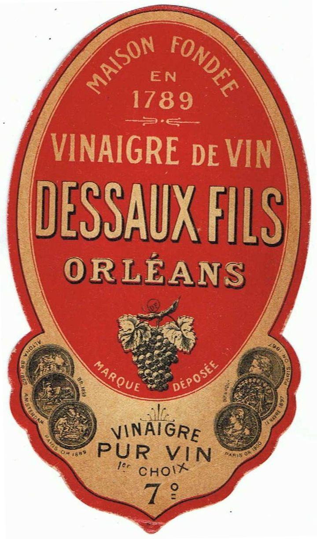 Logo de l'ancienne Vinaigreries Dessaux  (Wikimedia Commons)