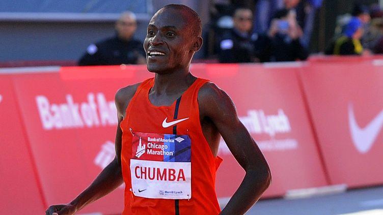 Le Kényan Dickson Chumba (DAVID BANKS / EPA)