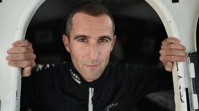 Armel Le Cléac'h, vainqueur du Vendée Globe 2016-2017 (JEAN-SEBASTIEN EVRARD / AFP)