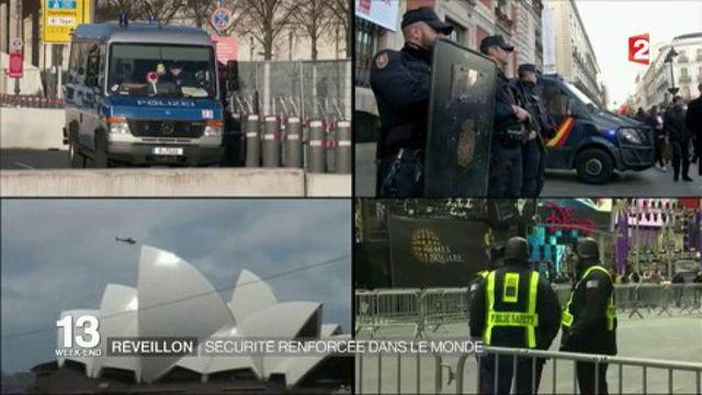 Réveillon : des mesures de sécurité renforcées dans les lieux symboliques du monde
