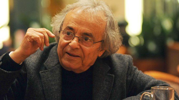 Le poète syrien Adonis, plusieurs fois nommé pour le prix Nobel de Littérature, le 12 novembre 2009. ( AFP )