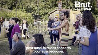 VIDEO. Flo Delavega nous invite à son festival en pleine forêt (BRUT)