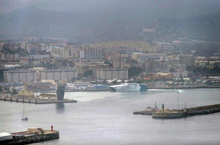 Vue générale de Ceuta le 26 octobre 2016 (JORGE GUERRERO / AFP)
