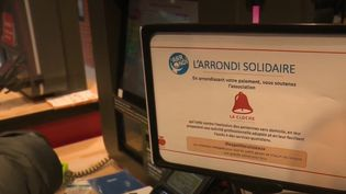 Arrondi solidaire  (FRANCEINFO)