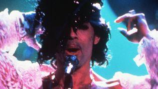 Prince en concert le 11 février 1985 à Paris  (Pascal George / AFP)