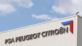 L'usine PSA Peugeot Citroën de Poissy (Yvelines), le 20 juin 2013. (F. GELEBART / 20 MINUTES / SIPA)