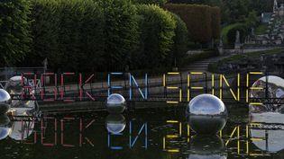 La 17e édition du festival Rock en Seine au Domaine de Saint-Cloud, en 2019. (SADAKA EDMOND/SIPA)