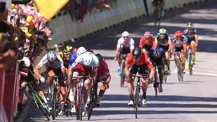 Le sprint de la 4e étape à Vittel avait été houleux (DE WAELE TIM / TDWSPORT SARL)