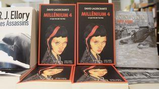 """Millenium - Ce qui ne me tue pas"" tome 4, David Lagercrantz (Actes Sud)  (MIGUEL MEDINA / AFP)"