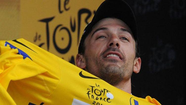 Cancellara est le premier maillot jaune du Tour 2010