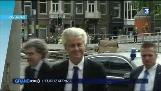 Eurozapping : des salariés français de Marks & Spencer manifestent à Londres, l'extrême droite en tête des sondages avant les élections législatives aux Pays-Bas