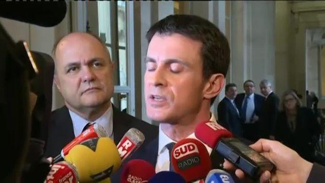 """Révision constitutionnelle : Manuel Valls """"satisfait"""" du vote des députés """"au-dessus des 3/5e"""""""