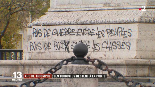 L'Arc de Triomphe ferme ses portes aux touristes