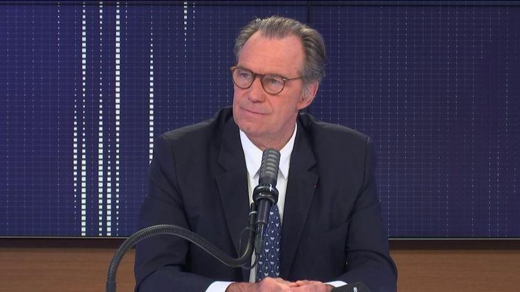 Renaud Muselier, président de la région Sud ex-Paca, président des Régions de France, invité de franceinfo mercredi 7 avril 2021.  (FRANCEINFO / RADIO FRANCE)
